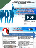 Diapositivas.Influencia del clima organizacional en el rendimiento laboral