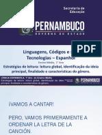 Estratégias de Leitura Leitura Global, Identificação Da Ideia Principal, Finalidade e Características Do Gênero.