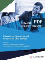 Guia Didáctica de Supervisión de obras Publicas