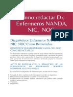 Diagnósticos Enfermeros NANDA