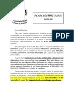 PLAN LECTOR 2019-2020-1
