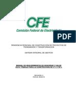 Anexo 5. Manual de Requerimientos de Seguridad y Salud en El Trabajo (Requisito CPTT)