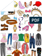 Clothes and Accessories Chart