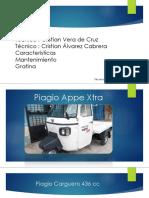 Moto Carguero Piagio Cargo 399 Cc Petrolero
