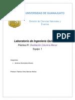 Laboratorio IQ IV Práctica#1