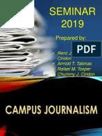 Campus Journalism