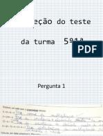 Correção do teste 5ºano.pptx