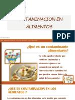 Contaminacion en Alimentos