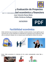 Factibilidad economica