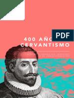 400 Años de Cervantismo-Jornadas de Montevideo-González Briz-Actas 2016