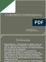 Concreto_Postensado.H. Cabrera, J. A. Hernández, M. G. Torres