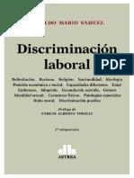 Discriminacion Laboral. 2017. Osvaldo Mario Samuel