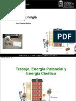 Clase 16 Trabajo y Energía (Parte I)