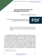 Facultades de Fedacion de los corredores publicos.