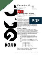 DES12 UT03 a Palavra Como Imagem AM 2019-2020