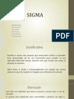 Apresentação Final - Grupo Sigma