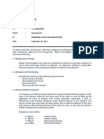PERSONNEL RULES AND REGULATIONS