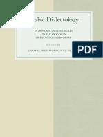 Arabic Dialectology