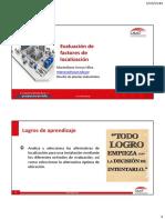 2009-I - Factores de Ponderacion