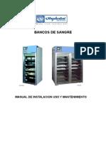 Refrigeradoras de Banco de Sangre-BB 220- Cod 513476- Manual de Uso- Rev 1-Ene-06