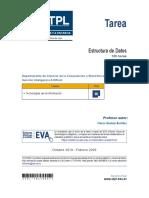 Tarea - Estructura de Datos