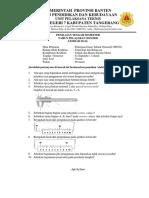 Soal PTS 10 PDTO - 1