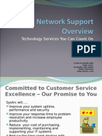 SysArc Managed Services Overview