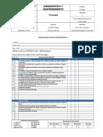 Formato Inspeccion Instalaciones Electricas