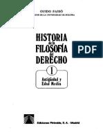 Guido Fasso - Historia de La Filosofía Del Derecho I