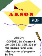 ARSON.ppt
