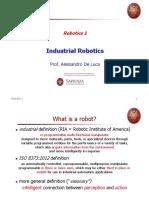 Industrial robotic