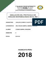 Analisis microbiologico