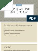 Complicaciones Quirúrgicas-Alejandra Arenas