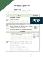 Agenda psicopedagogica