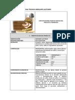 Ficha Tecnica Arequipe-ma (1)