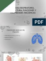 Estructura, función y dinámica pulmonar