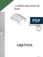 Análisis y Diseño Estructural de Una Cubierta