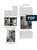 Alcalinidad Total, Dureza, Cloruros