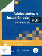 56. Adolescentes y Politicas Publicas. de La Invisibilidad a La Necesaria Centralidad