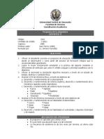 Programa Deportes II UCV