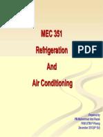351 Chap1 Refrigeration Intro 2014