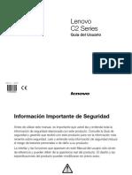 Lenovo C2 Series 31503030 Guía del Usuario