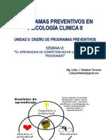 programas preventivos en psicología clínica