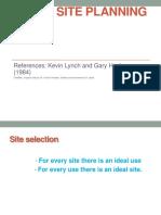 Basic Siteplanning Lynch Gary.ppt