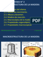 TEMA N° 002. MACROESTRUCTURA DE LA MADERA