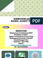 Komunikasi Hasil Audit Pbj