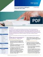Guidelines on depreciation