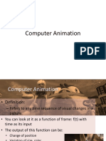 12 - Lecture11 - Computer Animation