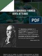 Hemostasia y Manejo Gentil Cirugia
