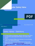 Boiler Safety Valve